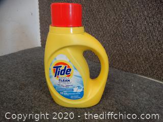 Tide Laundry Soap Almost Full