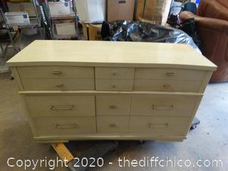 """6 Drawer Dresser  L-""""54 T-32"""" D- 19"""""""