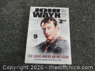John Wayne THE GREAT AMERICAN WESTERN