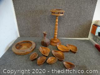 Wood Dishes & More