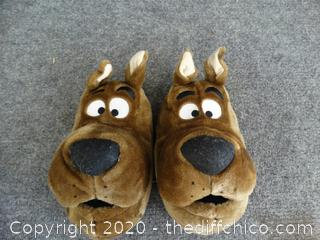 Scooby Doo Slippers 3-4