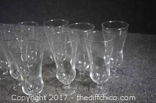 9 Parfait Glasses