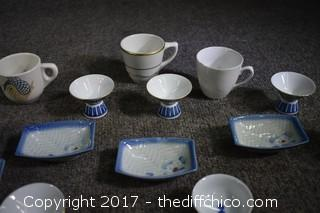 Lot of Oriental Porcelain