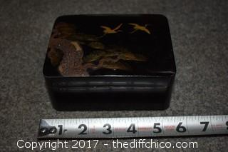 Oriental Lot - Bowls, Trinket Box, Statue & More
