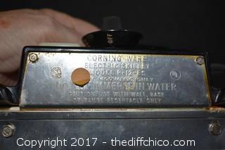 Corning Ware Working Cook Top