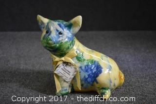 Porcelain Patchworks Pig