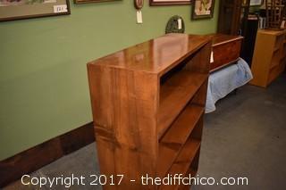 Knotty Pine Vintage Book Shelf