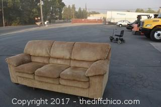 87in wide Couch