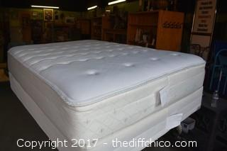 Sears Posturepedic Mattress & Box Spring