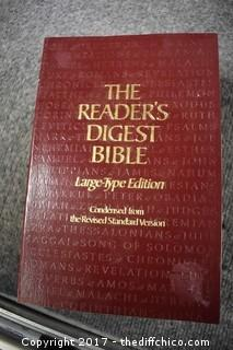 Reader's Digest Large Type Bible