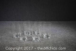 6 Candlewick Glasses