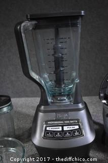 Working Ninja Professional 1500 Watt & Accessories