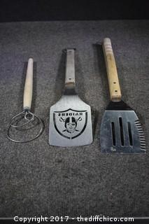 Raiders BBQ Set