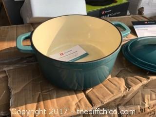 Zelancio 6 Quart Dutch Oven - Teal