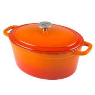 Zelancio 6 Quart Dutch Oven - Orange Oval