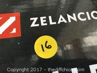 "Zelancio 10"" Cast Iron Skillet - Teal"