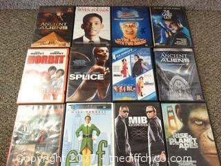 12 Blu-Rays