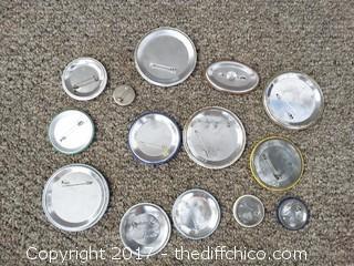 Button Pin Lot