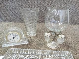 Crystal and Glass Lot