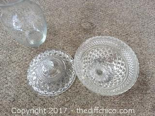 Crystal Candy Dish and More
