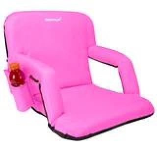 """Driftsun Reclining Stadium/Bleacher Chair 20"""" Pink"""