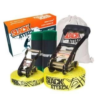 Driftsun 50 Foot Slack Attack Slackline Kit