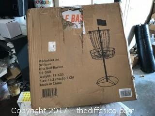 Driftsun Lightweight Disc Golf Practice Basket