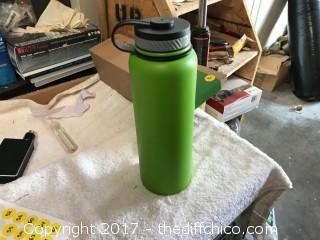 Winterial 40oz Insulated Water Bottle - Lime Green