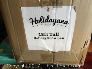 Holidayana 18 Foot Holiday Snowman