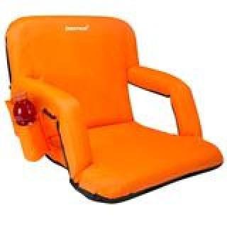 """Driftsun 20""""  Reclining Bleacher Chair - Orange"""