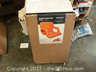 """Driftsun 20""""  Reclining Bleacher Chair - Green"""