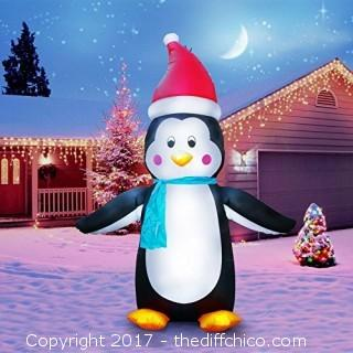 Holidayana 7ft 10in Tall Holiday Penguin