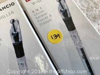 Zelancio Wine CHiller - 2 Pack