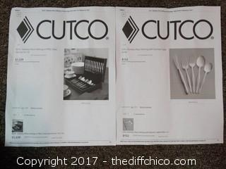 Set Of 11 Cutco Small Forks