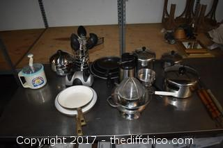 Mixed Lot of Kitchen Cookware