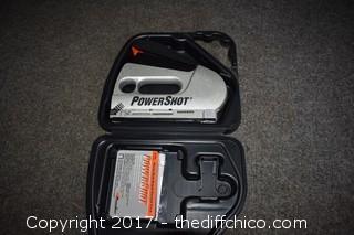 Power Shot Stapler w/Case