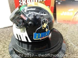 John Force Elvis Presley Helmet Collectors Edition NIB