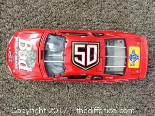 Diecast Budweiser Race Car NIB
