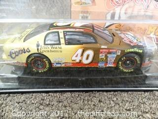 Coors Light #40 Race Car John Wayne Edition (With Certificate Of Authenticity) NIB
