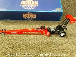 Chris Karamesines Diecast Dragster NIB