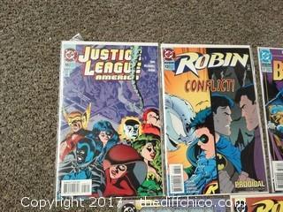 5 Collectible Comic Books