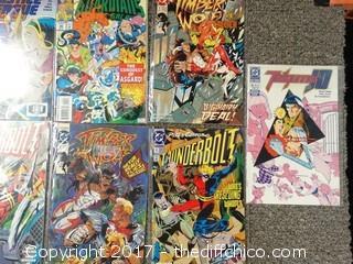 9 Collectible Comic Books
