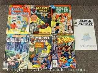 7 Collectible Comic Books