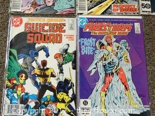 5 Collectible Comic Books