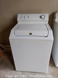Maytag Atlantis Washer - Oversize Capacity Plus 5 Speed Combination - Electric - Consignor Reports Works Great