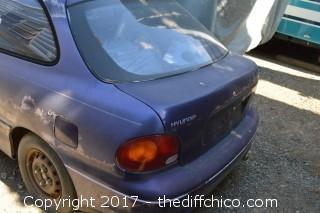 Lien Sale-1996 Hyundai Accent