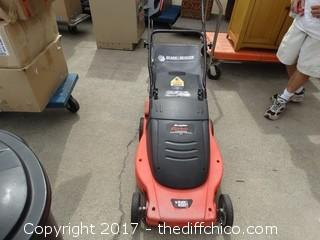 Electric Black and Decker Lawn Mower (Working)