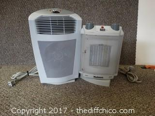 2 Working Space Heaters