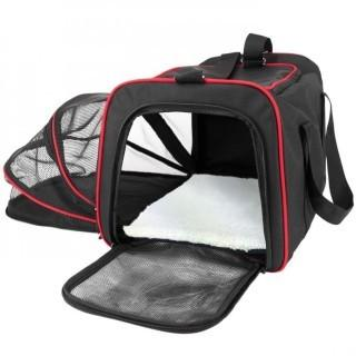Frontpet Expandable Soft Sided Airline Approved Pet Carrier $59.99 Retail