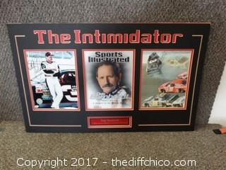 "#3 Dale Earnhardt Sr, ""The Intimidator"" Autographed Picture 30x18"